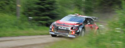 En son 3D sur les pistes de rallye finlandaises