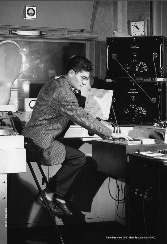 Pierre Henry en 1952