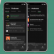 La bibliothèque de podcasts de Spotify, l'outil Conversations d'Amazon et l'adaptation des radios au format podcast