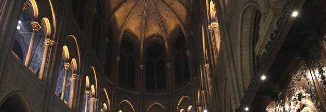 Les lumières de Notre-Dame