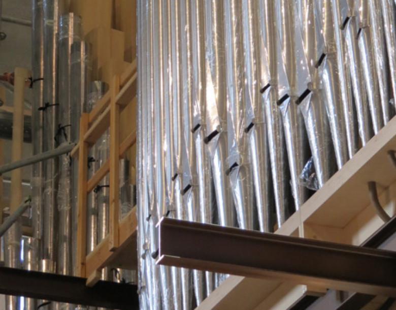 Premières notes de l'orgue de Radio France