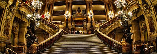 L'Opéra Garnier à petits pas
