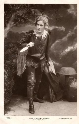 Pauline Chase - Peter Pan• Crédits : Bassano