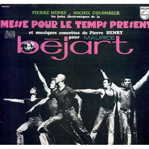 33 Tours de Pierre Henry & Michel Colommier - Messe pour le temps présent (1967)