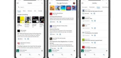 Google Podcasts dévoile son nouveau design et se lance sur iOS
