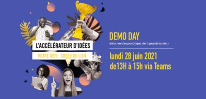 Bientôt le Demo Day de l'Accélérateur d'idées !