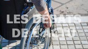 En matière d'accessibilité, un gros effort a été réalisé pour les bâtiments publics. Mais les petits commerces et les transports en commun représentent encore un gros point noir. AFP / Nicolas Guyonnet