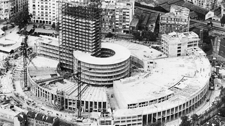 ARCHIVES-RADIO-FRANCE-CONSTRUCTION MAISON DE LA RADIO