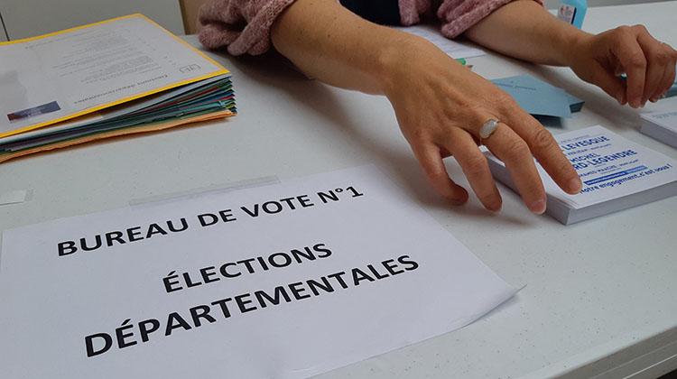 Bureau de vote Olivier Duc France Bleu Basse Normandie
